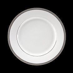 Grand Collection - White with Platinum Rim