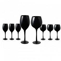 Midnight Black Glassware