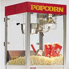 Popcorn additional equipment