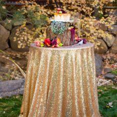 Sequin Wedding Decor Seattle