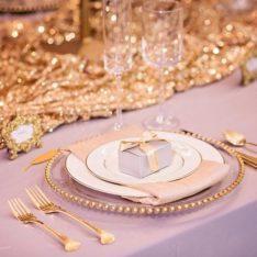 Sequin Wedding Decor