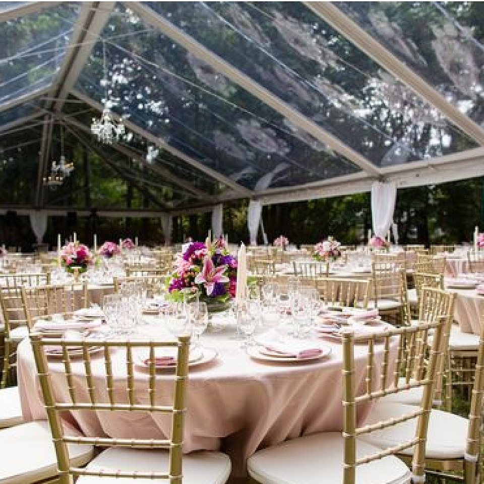30' X 30' Clear-Top - Grand Event Rentals