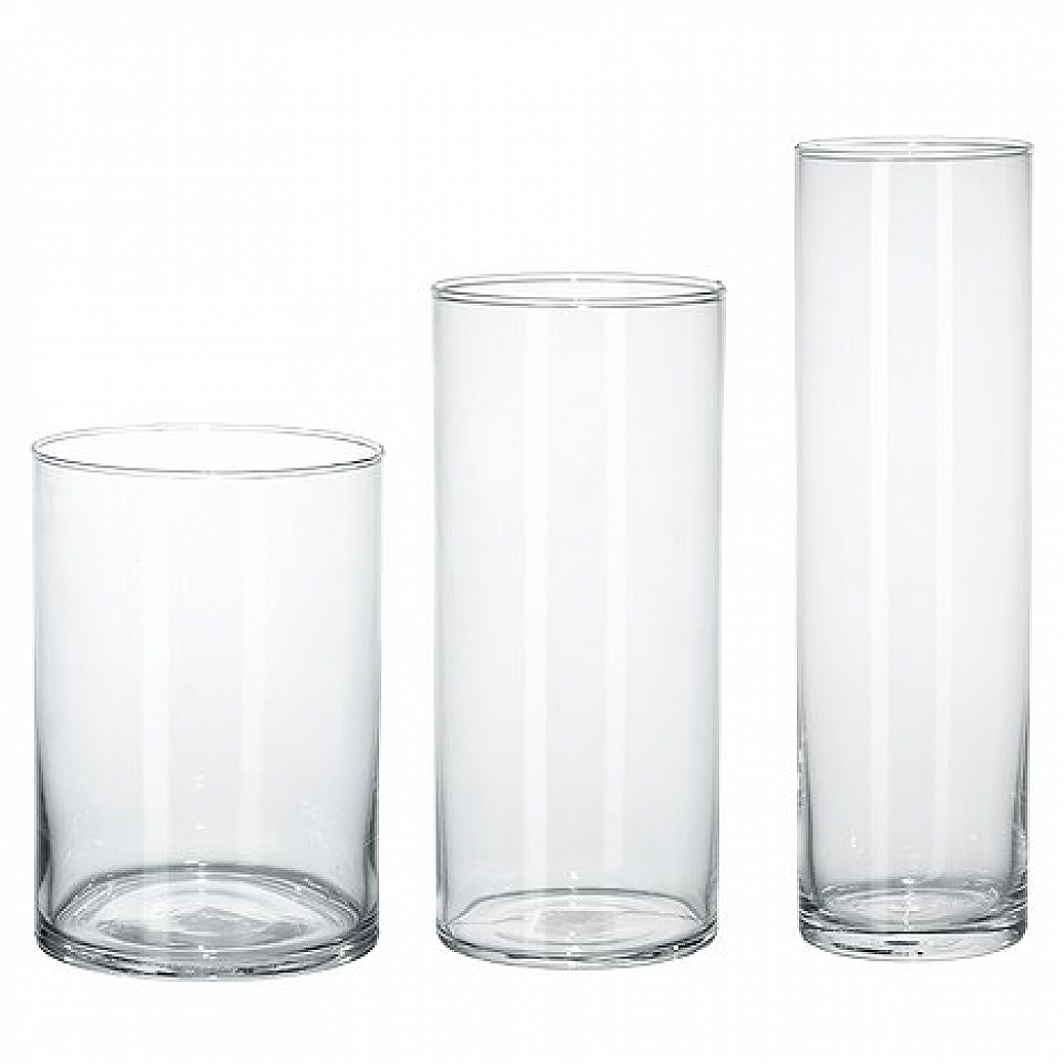vases table cylinder glass centrepieces mall wedding vase