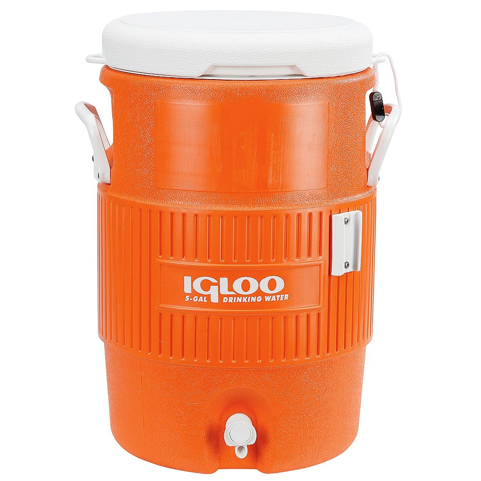 Igloo Cold 5 Gallon Beverage Dispenser Orange Grand