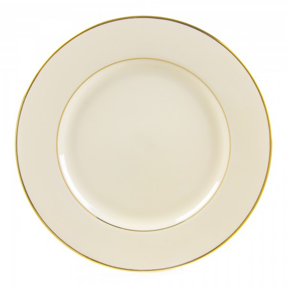 Luxor Ivory W Gold Rim Dinner Plate 10 5 Quot Grand Event