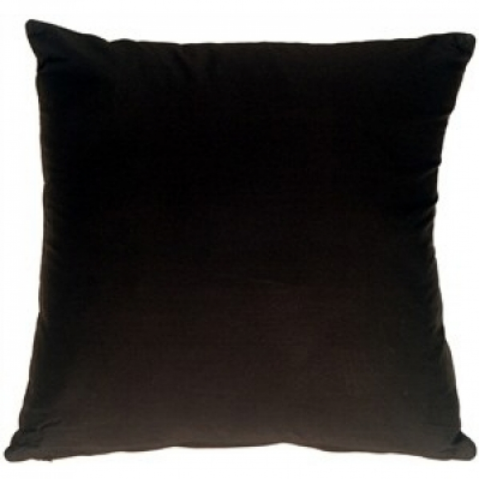 Black Microfiber Throw Pillows : Microfiber Pillow Black Solid 16