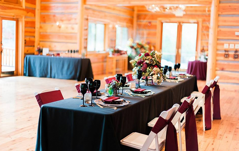 Tableware for Fall Wedding