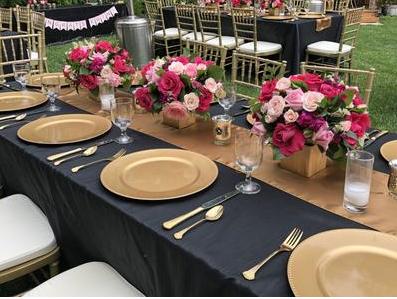 Wedding Table Rentals Seattle