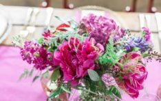 Table Decor Snohomish Wedding