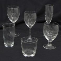 Optic Line Glassware