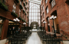 Downtown Seattle Wedding Decor