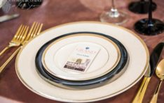 Place Settings for Corporate Event