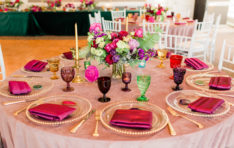 Bright Wedding Decor