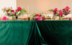 Decor for Seattle Vow Renewal