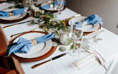 Place Settings SODO Wedding