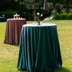 Velvet Linens for Table