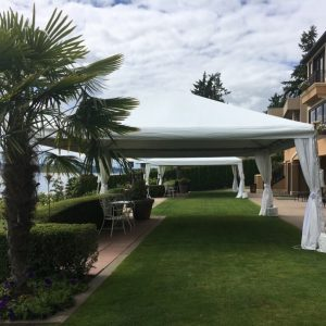 Outdoor Tent Structure at a private home